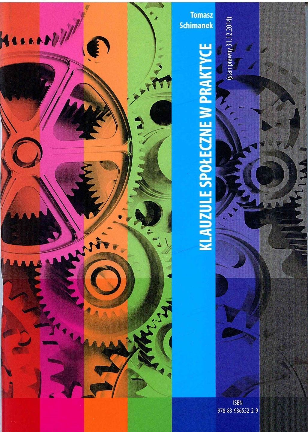 Klauzule społeczne w praktyce publikacje