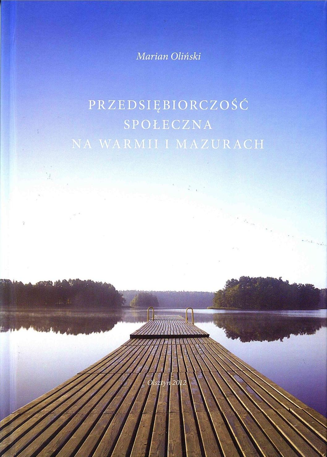 Przedsiębiorczość społeczna na Warmii i Mazurach publikacje